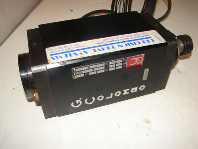 G. Colombo Rc73.22 Cnc Router Spindle 2.6a 1.3hp Xlnt