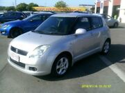 2005 Suzuki Swift EZ Silver 5 Speed Manual Hatchback Coopers Plains Brisbane South West Preview