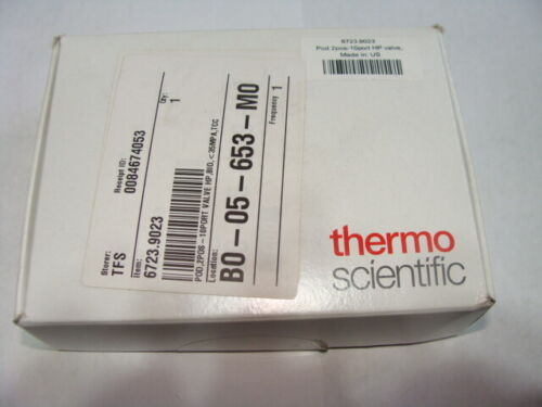 Thermo Pod 2pos-10port HP Ventil, bio, <345bar/5000psi TCC P/N 6723.9023