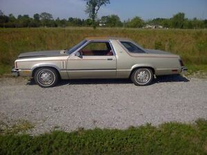 1982 mercury zephyr Z7 sport coupe well optioned