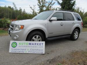 2008 Ford Escape Limited 4WD INSPECTED, WARRANTY, FINANCING!