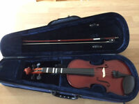 3/4 size violin - suitable for a beginner