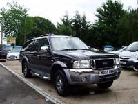 2006 FORD RANGER 2.5 TD Wildtrak Double Cab 4WD NO VAT