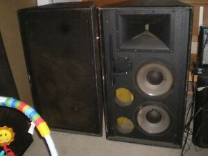 Super special 1 pair JBL 4732  PA system speakers