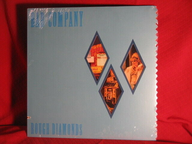 Bad Company Rough Diamonds Swansong LP Record 1982 Die-Cut Cover SEALED UNUSED