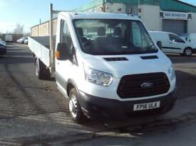 Ford Transit T350 13ft Dropside 125ps DIESEL MANUAL WHITE (2016)