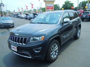 2014 JEEP GRAND CHEROKEE LIMITED- SUNROOF, NAVIGATION SYSTEM, RE