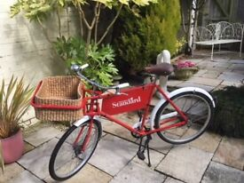 Pashley Postman/Butchers bike. Fully restored. Stunning example of a rare bike