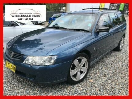 2003 Holden Commodore VY Executive Blue Automatic Wagon