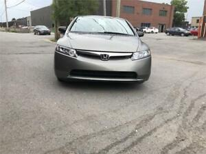 2006 Honda Berline Civic DX-G-WOW 119900 KM CERTIFIE-WOW