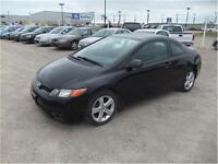 2006 HONDA CIVIC DX-G COUPE / ALLOY WHEELS / 5-SPEED!