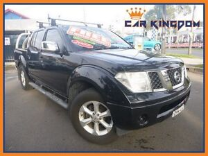2007 Nissan Navara D40 ST-X 6 Speed Manual Utility Homebush Strathfield Area Preview