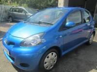 Toyota AYGO 1.0 VVT-i Blue 5dr (blue) 2010