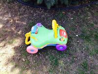 Combo Walker & Ride-On Toy
