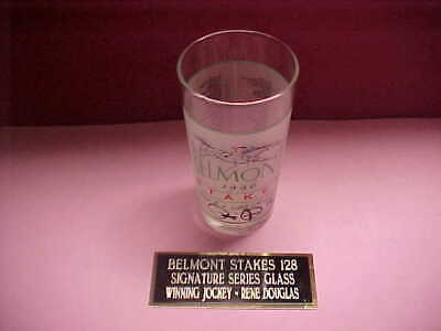1996 Signature Series Belmont Glass with name plate  New #79 of 1000 - Signature Series Glass