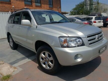2007 Toyota Kluger MCU28R Upgrade CV (4x4) Silver 5 Speed Automatic Wagon Burwood Burwood Area Preview