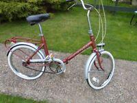Folding bike, shopper bke