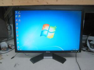 22in LCD monitor Dell ecran DEL moniteur