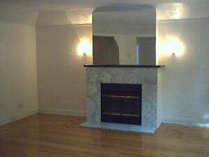 Upper Duplex 4 bedroom with Fireplace Bright  spacious,