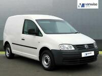 2012 Volkswagen Caddy C20 TDI 75 Diesel white Manual