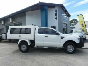 2012 Ford Ranger PX XL 3.2 (4x4) White 6 Speed Manual Super Cab Utility Earlville Cairns City Preview