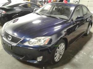 2006 LEXUS IS 250 AWD/PUSH BUTTON START/SUNROOF/HEATED &A/C SEAT
