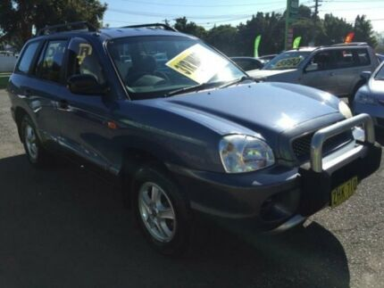 2003 Hyundai Santa Fe SM MY03.5 GLS Blue 4 Speed Automatic Wagon Lidcombe Auburn Area Preview