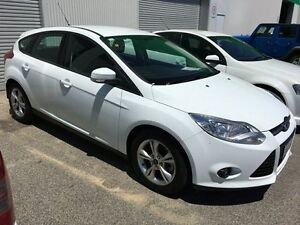 2012 Ford Focus LW Trend PwrShift White 6 Speed Sports Automatic Dual Clutch Hatchback Edgewater Joondalup Area Preview