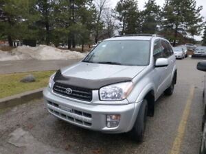 2002 Toyota RAV4 Package C SUV, Crossover
