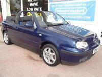 Volkswagen Golf 2.0 2001 SE Full S/H Inc Cambelt Low miles 2 keys P/X