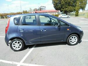 2008 Mitsubishi Colt RG MY08 ES Blue Continuous Variable Hatchback East Victoria Park Victoria Park Area Preview