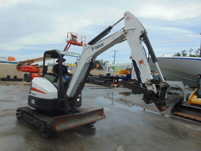 2014 Bobcat E35 Mini Excavator 7500 Lbs - 2 Speed - Only 1705 Hours - Plumbed