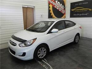 2013 HYUNDAI ACCENT GL,AIR,PRISES 12V/USB,CD/MP3,AUDIO VOLANT