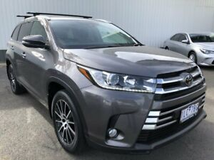 2017 Toyota Kluger GSU55R Grande AWD Grey 8 Speed Sports Automatic Wagon Oakleigh Monash Area Preview