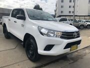 2017 Toyota Hilux GUN126R MY17 SR (4x4) White 6 Speed Automatic Dual Cab Utility North Strathfield Canada Bay Area Preview