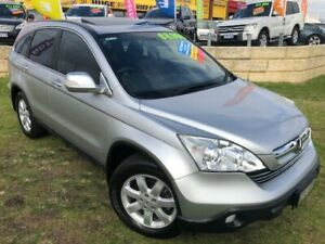 2007 Honda CR-V RE MY2007 4WD Silver 5 Speed Automatic Wagon Wangara Wanneroo Area Preview