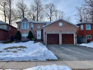 For Rent: 3 Bedroom Upper Unit in Central Barrie