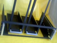 "19"" RACK CRADLE x3 FOR SOUND STUDIO CABINET. V GOOD CONDITION. Mixers, amps, Graphic equalisers, +++"