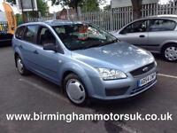 2004 (54 Reg) Ford Focus 1.6 TI-VCT LX 5DR Estate BLUE