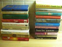 Danielle Steel hardback books £1 each (Reduced Price)