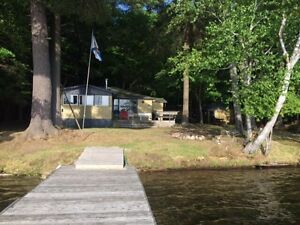 Lakefront Cottage Rental - Clearwater Lake