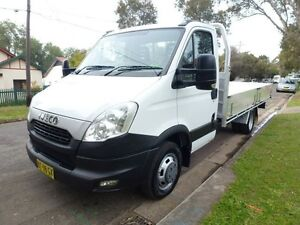 2012 Iveco Daily 45C17 EEV LWB 6 Speed Manual Cab Chassis Homebush West Strathfield Area Preview