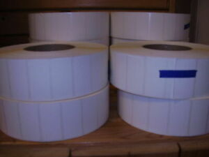 High quality thermal labels each has 5300 labels...