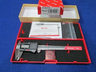 Starrett Ec799a-6150 0-6 Digital Caliper New