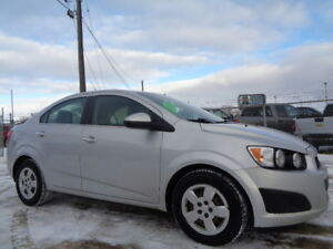 SOLD--2014 CHEVROLET SONIC LT-HEATED LE1.8L 4 CYL-REMOTE STARTER