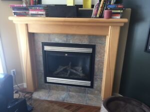 Fireplace Mantel - Maple