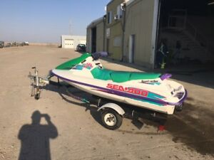 Seadoo For Sale with Trailer