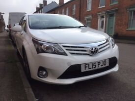 Toyota Avensis 2.0 D-4D Icon Business Edition 4dr Sat Nav Rear Camera