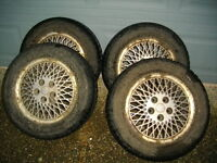 4 Snow tires & wheels, Dodge, Ford, Honda, Nissan Toyota, Mazda
