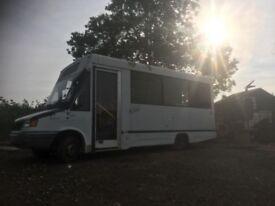 Conversion van-catering van/minibus/camper van